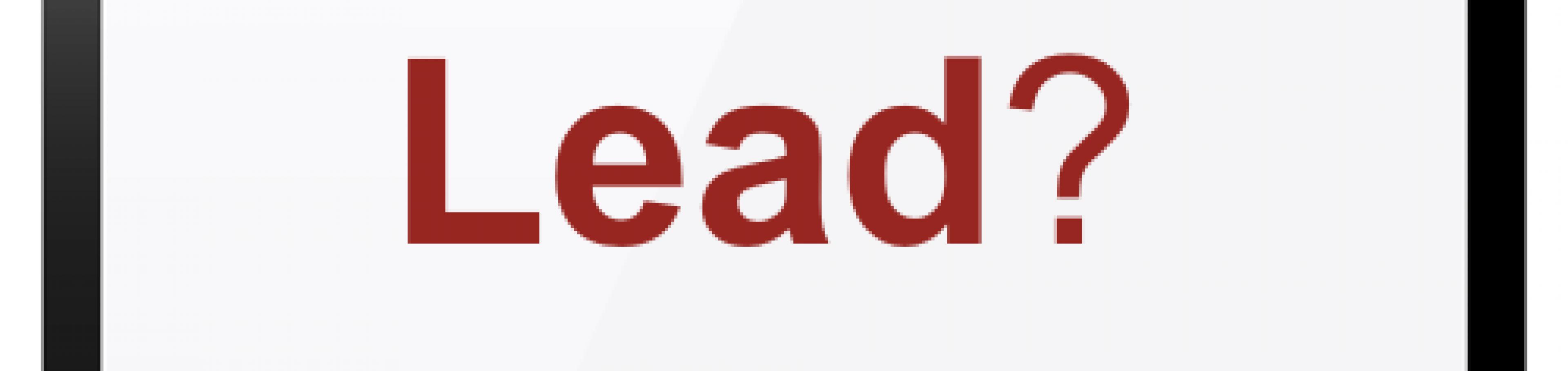 Was ist ein Lead - Begriffklärung
