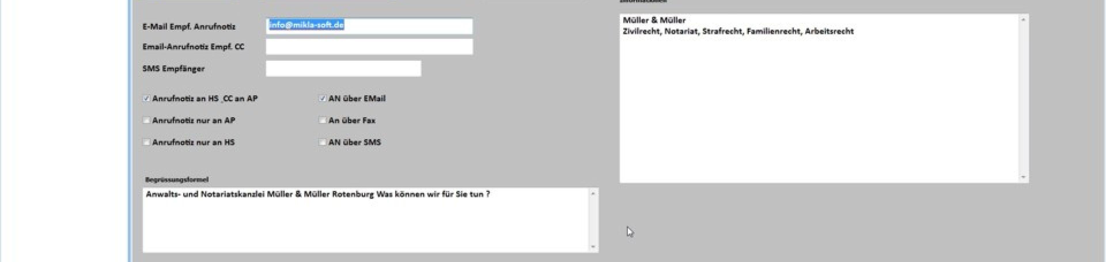 Büroservice Software: Neuer Mandant in wenigen Minuten anlegen