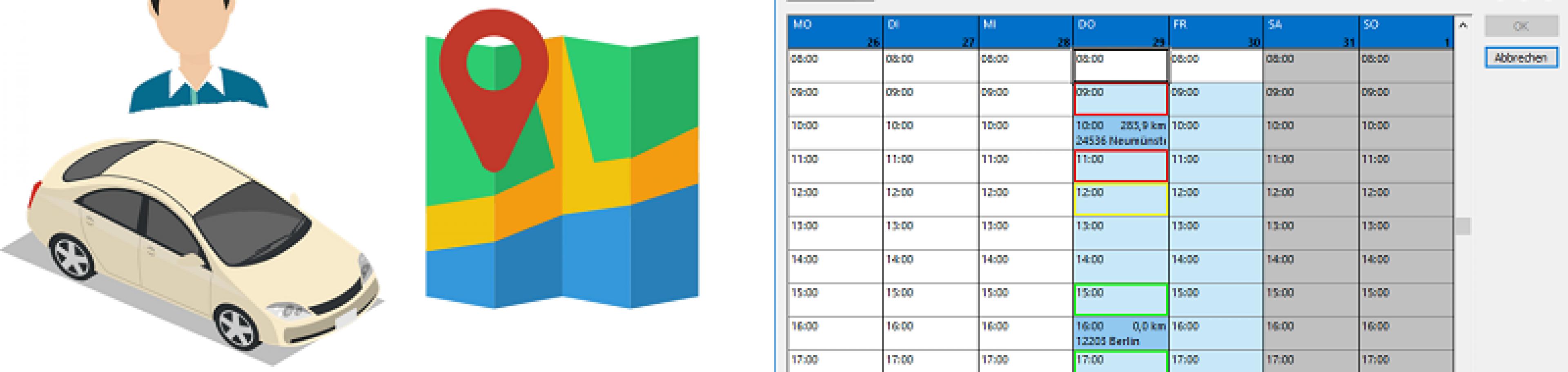 Abläufe im Callcenter beschleunigen: entfernungsoptimieret Terminvereinbarung