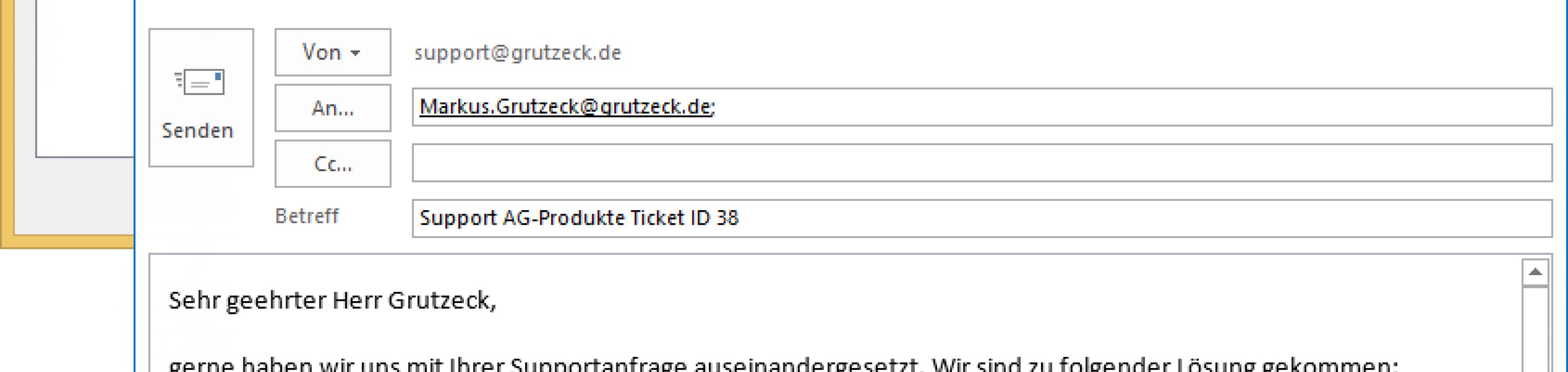 HelpDesk Software AG-VIP SQL: Einstufung nach Bearbeitung und auslösen automatischer Folgeaktivitäten, z.B. Email ...