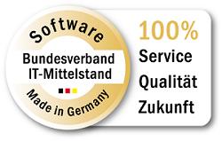 """CRM Software AG-VIP mit Gütesiegel """"Software Made in Germany"""" ausgezeichnet"""