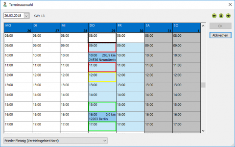 Contact Center Software: Scheduling Sales Representatives