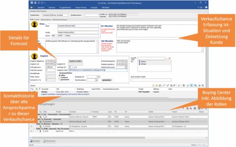 CRM Software AG-VIP - Verkaufschance