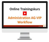 eLearning Kurs AG-VIP Workflow - jetzt buchen