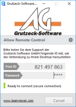 CRM Software AG-VIP: Remote Maintenance