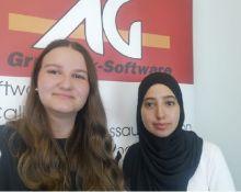 Auszubildende bei Grutzeck-Software, Hersteller von CRM Software und Callcenter Software