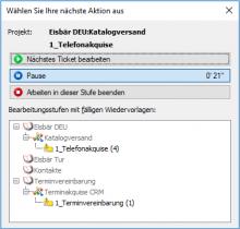 Outbound Software AG-VIP Projektampel