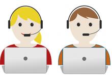 Mitarbeiter im Callcenter: Einfach, anders, arbeiten