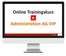 eLearning Kurs AG-VIP Administration - jetzt buchen